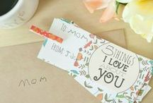 Mother's Day Ideas / Mother's Day ideas, crafts, printables and gifts.