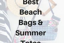 Best Beach Bags & Summer Totes / Thirty-One Gifts has amazing bags for summer! #beachbag #coolerbag #beachtote #canadianbaglady