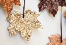 Fall Crafts / Simple fall crafts for kids and pretty fall crafts for grown-ups, too!