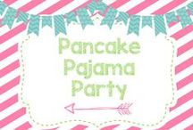 Halle Jane is THREE! / Halle Jane turns three with a Pancake & Pajama Party!