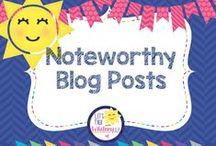 Noteworthy Blog Posts / Favorite blog posts by me and others!