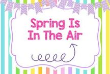 Spring Is In The Air! / DIYs, crafts, and activities for Spring!