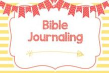 Bible Journaling / Beautiful bible journaling pages to inspire me to do better!