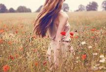 Blumenwiesen-Sommer-boho-Inspiration