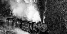 OLD TRAIN Industrial Prints / Beautiful vintage, rustic-looking trains. | vintage fan, old fan, loft,  steampunk prints, industrial decor, industrial painting, rustic decor, vintage decor, wall art. 10% off at industrialprints.com today!