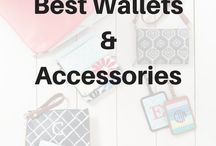 Best Wallets and Accessories / Compete your look with fashionable and functional Wallets and Accessories. Get inspired and save at www.canadianbaglady.blog