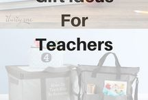 Gift Ideas for teachers / Teachers love our bags, totes, and thermals. Show appreciation to the special teachers in your life with a gift from the heart that is one of a kind and useful. #canadianbaglady #thirtyone #giftideas #teachers