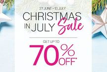 Outlet sale | summer clearance / Thirty-One Gifts is having a Christmas in July Outlet sale June 27 to July 11 2018. Supplies are limited. Combine your deal by purchasing a customer special with every $40 spent in the sale! Visit my site to shop. Please note that sale prices are not showing up on Pinterest, visit my site to see sale price. #outletsale #thirtyonegifts #thirtyone #canadianbaglady