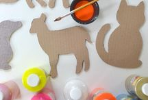Cardboard crafts for kids / I love cardboards! So many thinks to do :-)
