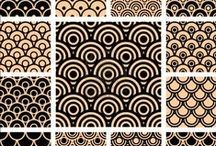 Patterns – inspirations / Plenty of pattern collections.