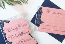 RE | wedding invitations