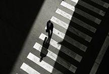 Ombres et lumière / Photos et illustrations jouant avec les ombres, lumières et reflets. Clair/obscur