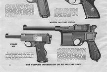 WWI-II weapons