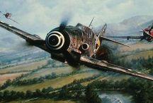 WWI-II Aviation