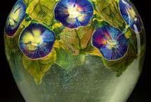 Art-Tiffany Studio Glass Art / Tifanny Studio által készült ablak és, bármilyen tárgy