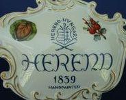 P-Herend-02 Hungary-porcelain / művész kezek