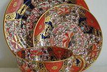 P-IMARI japan porcelain / izléses munka