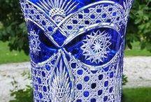 Art-Kristályok,metszések-Tárgyak / Üveg metszés csiszolás művészien