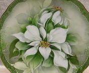 P-Green fleurs porcelain &.... / MINDEN AMI SZÉP ZÖLDBEN