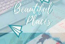 Travel || Beautiful Places / Travel inspiration for stunning destinations that make my jaw hit the floor. Fairy tale forest dwellings, impossibly clear lake waters, snow-covered castles in the mountains and paradise beaches.