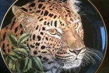 P-Wild-animals porcelain / szépsége