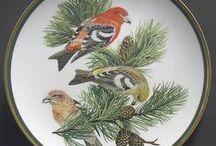 P-Birds-04 (Angol) / Franklin,Minton,Dauburry,R.Albert,Duelfon,Shelley Strafford,Coalport,Worcester,R.Crown Derby, Wedgwood