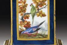 P-Birds-05 (Francia,Orosz) / Limoges,Sevres,Dinner,Ursula,Rodin,Hermes A.Bercy,