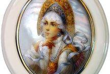 P-Lomonoszov, Orosz porcelánok / Művészi alkotások