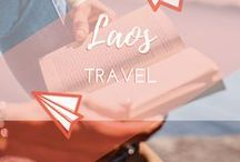Travel || Laos / Travel blogs, itineraries and guides to travelling around Laos, in Southeast Asia. Photos and backpacker tips for Luang Prabang, Kuang Si Waterfalls, the Blue Lagoon, Buddha Park, Vang Vieng and Vientiane.