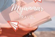 Travel || Myanmar/Burma / All about travel to, travelling around and backpacking in Myanmar (Burma), Southeast Asia. Exploring beautiful places such as Yangon, Mandalay and Inle Lake.