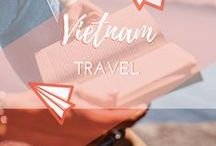 Travel || Vietnam / All about travel to, travelling around and backpacking in Vietnam, Southeast Asia. Exploring beautiful places such as Hanoi, Ha Long Bay, Hue, Nha Trang, Phu Quoc, the Mekong Delta, Hoi An and Ho Chi Minh City (Saigon)