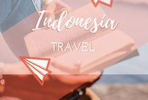 Travel || Indonesia / Travelling and backpacking around Indonesia, including Jakarta, Lombok, Bali and the Gili Islands. Yoga in Ubud, island-hopping, rice terraces, Hindu temples, surfing, snorkelling, diving and beautiful beaches.