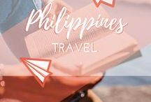 Travel || Philippines / Travel guides about backpacking around the Philippines. White sands and turquoise waters on the beaches of Boracay island, Cebu, Panay and more. The gorgeous rice terraces of Northern Luzon, hanging coffins in Sagada and capital city Manila.