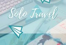 Travel || Solo Travel / All about travelling and backpacking as a solo traveller, solo female travel and general globetrotting as a lone wolf!