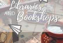 Travel || Libraries & Bookshops / Photos and blogs about the most beautiful and cosy libraries and bookshops all over the world. Give me a library, a coffee and a good book and I'll be happy.