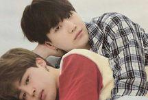 yoonmin ☼ / yoonmin makes me soft:3