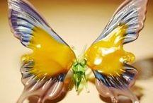 P--lepke-Papillon / porcelán