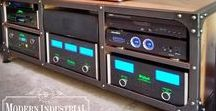Audiophile Furniture / Audiophile Furniture - McIntosh Martin Logan Klipsh