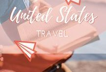 Travel || United States / Travel guide for the US, backpacking around the States and road trips across America. American food, big cities and impressive landscapes.
