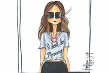 Fashion Illustrations / by Haley Elizabeth