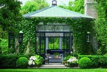 HOMES / {great gardens and architecture}