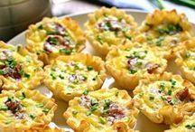 Recipes-Breakfast/Brunch / Easy Breakfast and Brunch menu ideas including casseroles, fast and easy.