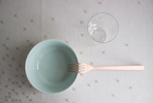 tableware + flatware / by sillywood / sylvia staphorst