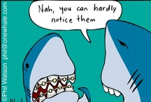 Dentist Humor / We know it can be tough to smile at the dentist office, but hopefully these cartoons will make you laugh!