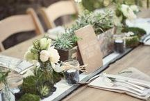 Theme: Eco-Friendly Weddings / Having an eco-friendly #wedding? Or even if you are just trying to be green when planning your wedding, here are some ideas for favors, food, decorations, and much more. #ecofriendlywedding