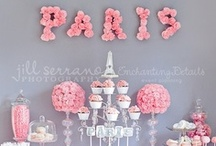 Theme: Paris/French Weddings / #Paris is for lovers, so it's no wonder why a Paris #wedding theme is so popular and well-loved. Here are some fun ideas for incorporating a French flair in your wedding. And of course, don't forget the Eiffel Tower!