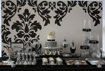 Theme: Damask Weddings / Bringing #damask into your #wedding theme is a beautiful idea. It's elegant and very chic. Here are some fun ways to incorporate the damask pattern into your wedding day.