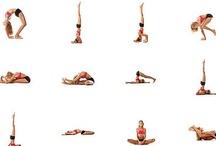 yoga/ stretches / by Aubrey Burns