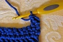 Crochet Stitches, Techniques, Etc.