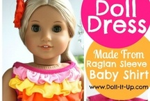 Doll Clothes Handmade, and Accessories / by Cindy Gillman